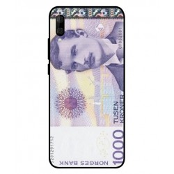 1000 Norwegian Kroner Note Cover For Wiko View 3 Lite