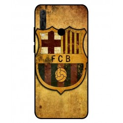 Durable FC Barcelona Cover For Wiko View 3 Pro