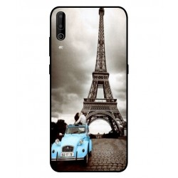 Durable Paris Eiffel Tower Cover For Wiko View 4 Lite
