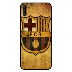 Durable FC Barcelona Cover For Wiko View 4 Lite