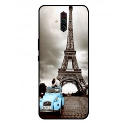 Durable Paris Eiffel Tower Cover For ZTE Nubia Play