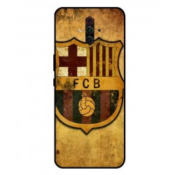 Durable FC Barcelona Cover For ZTE Nubia Play