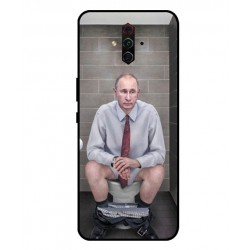 Durable Vladimir Putin On The Toilet Cover For ZTE Nubia Play