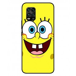Durable SpongeBob Cover For Xiaomi Mi 10 Youth 5G