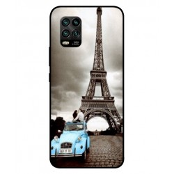 Durable Paris Eiffel Tower Cover For Xiaomi Mi 10 Youth 5G