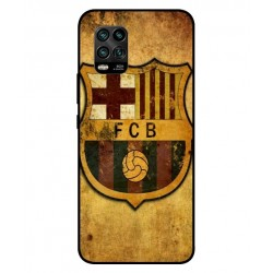 Durable FC Barcelona Cover For Xiaomi Mi 10 Youth 5G