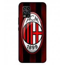 Durable AC Milan Cover For Xiaomi Mi 10 Youth 5G