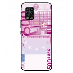 Durable 500 Euro Note Cover For Xiaomi Mi 10 Youth 5G