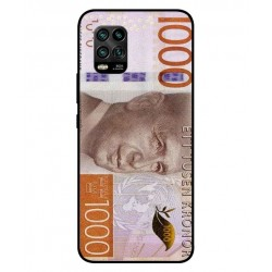 Durable 1000Kr Sweden Note Cover For Xiaomi Mi 10 Youth 5G