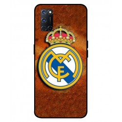 Durable Real Madrid Cover For Oppo A92