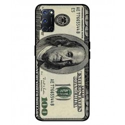 Durable 100 Dollar Note Cover For Oppo A92