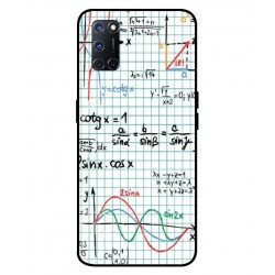 Durable Mathematics Cover For Oppo A92