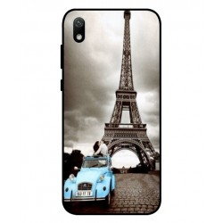 Durable Paris Eiffel Tower Cover For Huawei Y5 2019