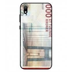 1000 Danish Kroner Note Cover For Huawei Y5 2019
