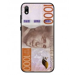 Durable 1000Kr Sweden Note Cover For Huawei Y5 2019