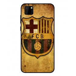 Durable FC Barcelona Cover For Huawei Y5p