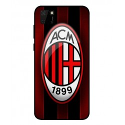 Durable AC Milan Cover For Huawei Y5p