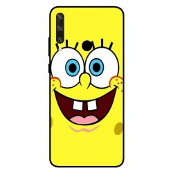 Durable SpongeBob Cover For Huawei Y6p