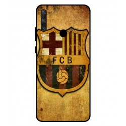 Durable FC Barcelona Cover For Huawei Y6p