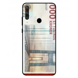 1000 Danish Kroner Note Cover For Huawei Y6p