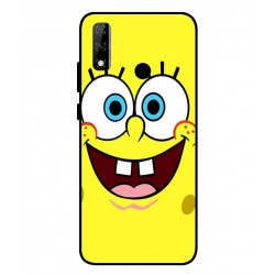 Durable SpongeBob Cover For Huawei Y8s