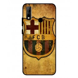 Durable FC Barcelona Cover For Huawei Y8s