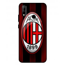Durable AC Milan Cover For Huawei Y8s