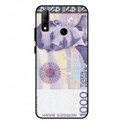 1000 Norwegian Kroner Note Cover For Huawei Y8s