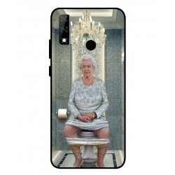 Durable Queen Elizabeth On The Toilet Cover For Huawei Y8s