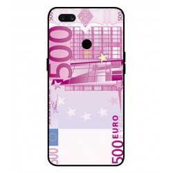 Durable 500 Euro Note Cover For Oppo A12