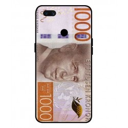 Durable 1000Kr Sweden Note Cover For Oppo A12