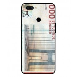 1000 Danish Kroner Note Cover For Oppo A12