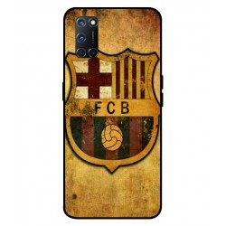 Durable FC Barcelona Cover For Oppo A52