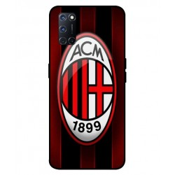 Durable AC Milan Cover For Oppo A52