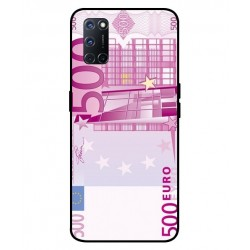 Durable 500 Euro Note Cover For Oppo A52