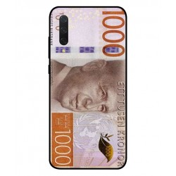 Durable 1000Kr Sweden Note Cover For Xiaomi Mi 9 Lite