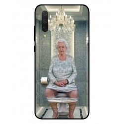 Durable Queen Elizabeth On The Toilet Cover For Xiaomi Mi 9 Lite