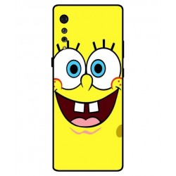 Durable SpongeBob Cover For LG Velvet