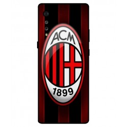 Durable AC Milan Cover For LG Velvet