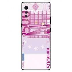 Durable 500 Euro Note Cover For LG Velvet