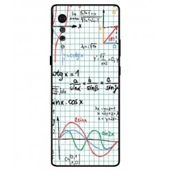 Durable Mathematics Cover For LG Velvet