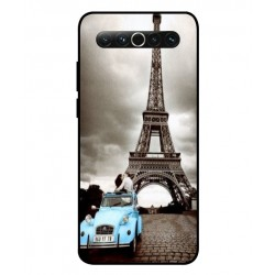 Durable Paris Eiffel Tower Cover For Meizu 17