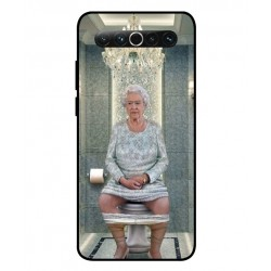 Durable Queen Elizabeth On The Toilet Cover For Meizu 17
