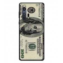 Durable 100 Dollar Note Cover For Motorola Edge Plus