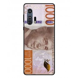Durable 1000Kr Sweden Note Cover For Motorola Edge Plus