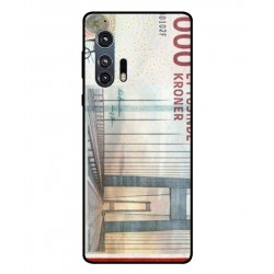 1000 Danish Kroner Note Cover For Motorola Edge Plus