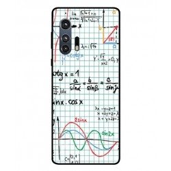Durable Mathematics Cover For Motorola Edge Plus