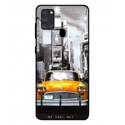 Durable New York Cover For Samsung Galaxy A21s
