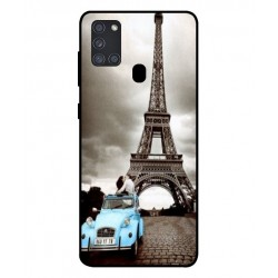 Durable Paris Eiffel Tower Cover For Samsung Galaxy A21s