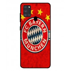 Durable Bayern De Munich Cover For Samsung Galaxy A21s